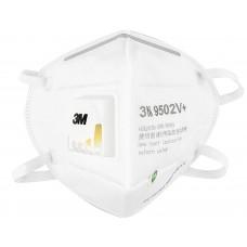 Maska 3M 9541V KN95 z ventilom, bela