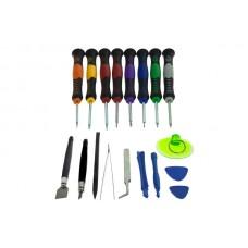 Orodje za popravilo in odpiranje naprav, 18-delni komplet