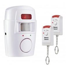 Mini alarm s senzorjem gibanja in daljinskim upravljanjem