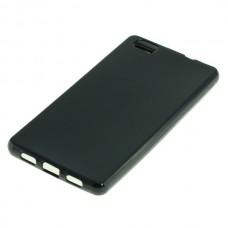 Silikonski ovitek za Huawei P8 Lite, črn