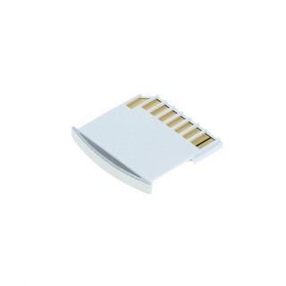 Adapter za MicroSD kartice za prenosnike Apple Macbook, srebrn