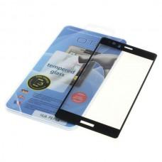 Kaljeno zaščitno steklo za Huawei P9 Plus, Full Cover 3D, črno