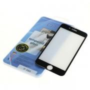 Kaljeno zaščitno steklo za iPhone 6 / 6S, Full Cover 3D, črno