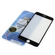 Kaljeno zaščitno steklo za iPhone 6 Plus / 6S Plus, Full Cover 3D, črno