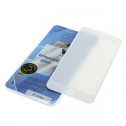 Kaljeno zaščitno steklo za iPhone 6 Plus / 6S Plus, Full Cover 3D, belo