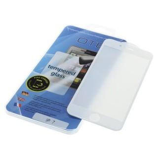 Kaljeno zaščitno steklo za iPhone 7 / 8, Full Cover 3D, belo