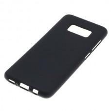 Silikonski ovitek za Samsung Galaxy S8, črn