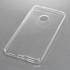 Silikonski ovitek za Huawei P8 Lite (2017), prozoren