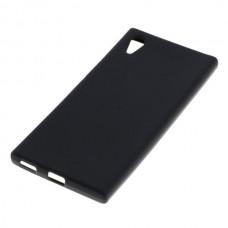 Silikonski ovitek za Sony Xperia XA1, črn