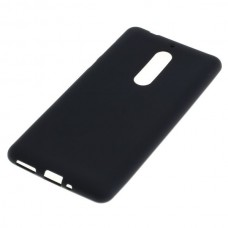Silikonski ovitek za Nokia 5, črn