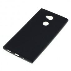 Silikonski ovitek za Sony Xperia XA2 Ultra, črn