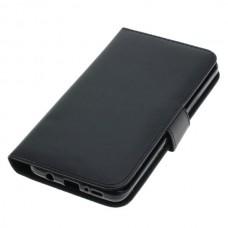 OTB preklopna torbica za Samsung Galaxy S9+ / SM-G965F iz umetnega usnja, črna