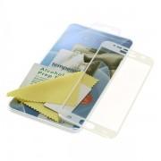 Kaljeno zaščitno steklo za iPhone 8 Plus, Full Cover 3D, belo