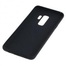 Silikonski ovitek za Samsung Galaxy S9 Plus, črn