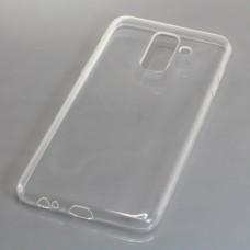 Silikonski ovitek za Samsung Galaxy A6 Plus (2018), prozoren