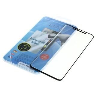 Kaljeno zaščitno steklo za Huawei Mate 20 Pro, Full Cover 3D, črno
