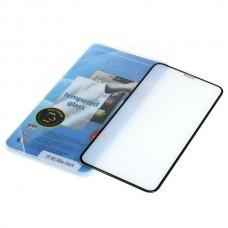 Kaljeno zaščitno steklo za iPhone XS Max, Full Cover 3D, črno
