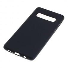 Silikonski ovitek za Samsung Galaxy S10, črn