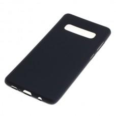 Silikonski ovitek za Samsung Galaxy S10 Plus, črn
