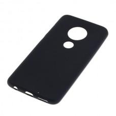 Silikonski ovitek za Motorola Moto G7, črn