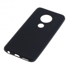 Silikonski ovitek za Motorola Moto G7 Plus, črn