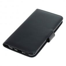 OTB preklopna torbica za Samsung Galaxy A30 iz umetnega usnja, črna
