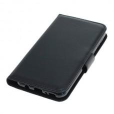 OTB preklopna torbica za Samsung Galaxy M20 iz umetnega usnja, črna