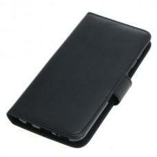 OTB preklopna torbica za Samsung Galaxy A20e iz umetnega usnja, črna