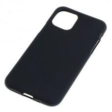 Silikonski ovitek za Apple iPhone 11 Pro, črn