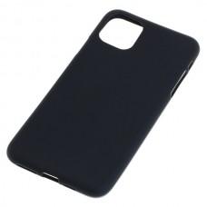 Silikonski ovitek za Apple iPhone 11 Pro Max, črn