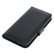 OTB preklopna torbica za Samsung Galaxy A10s iz umetnega usnja, črna