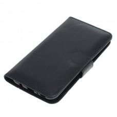 OTB preklopna torbica za Samsung Galaxy M30s iz umetnega usnja, črna