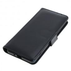 OTB preklopna torbica za Sony Xperia 1 II iz umetnega usnja, črna