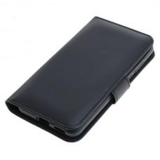 OTB preklopna torbica za Huawei P40 iz umetnega usnja, črna