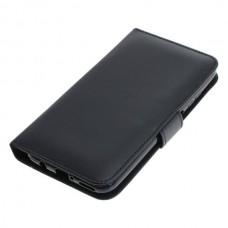 OTB preklopna torbica za Huawei P40 Lite iz umetnega usnja, črna