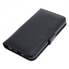OTB preklopna torbica za Huawei P40 Lite E iz umetnega usnja, črna
