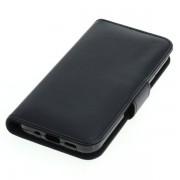 OTB preklopna torbica za Apple iPhone 12 Mini iz umetnega usnja, črna