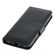 OTB preklopna torbica za Apple iPhone 12 iz umetnega usnja, črna