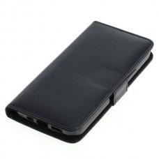 OTB preklopna torbica za Apple iPhone 12 Pro iz umetnega usnja, črna