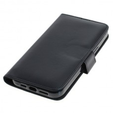 OTB preklopna torbica za Apple iPhone 12 Pro Max iz umetnega usnja, črna