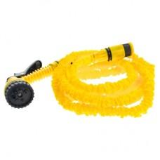Raztegljiva cev za zalivanje, rumena, 30m