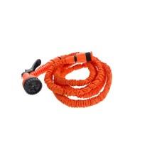 Raztegljiva cev za zalivanje, oranžna, 30m