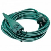 Omrežni električni kabel za Vorwerk Kobold VK130 / VK131, 10m