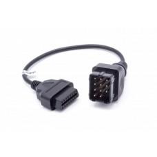 Adapter iz Renault 12-pin na OBD2