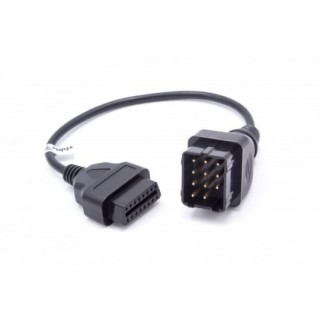 Adapter iz Renault 12-pin na OBD2