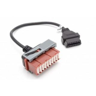 Adapter iz Citroen / Peugeot / PSA 30-pin na OBD2