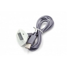 USB podatkovni kabel za Microsoft XBOX 360 Controller, siv