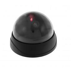 Lažna nadzorna kamera z utripajočo LED, okrogla