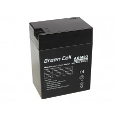 Green Cell AGM baterija 6V 14Ah