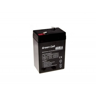 Green Cell AGM baterija 6V 5Ah